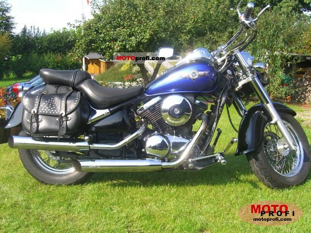Kawasaki Vn 800 Classic 1996 Specs And Photos