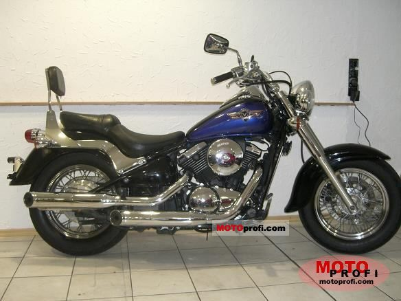kawasaki vn 800 classic 1997 specs and photos. Black Bedroom Furniture Sets. Home Design Ideas