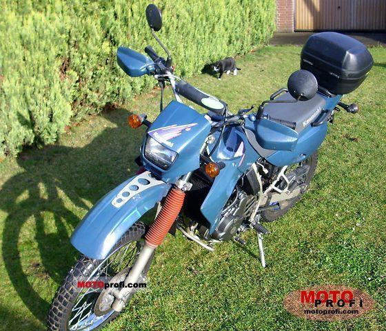 Kawasaki KLR 650 1995 photo