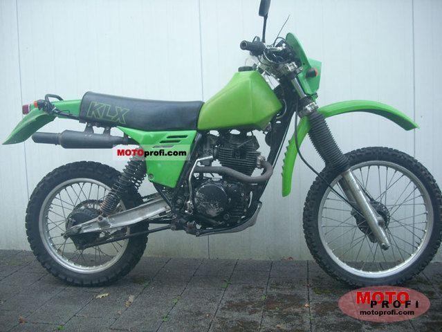 Kawasaki KLX 250 1983 photo