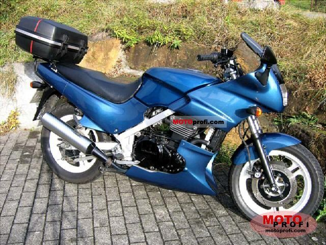 kawasaki gpz 500 s 1991 specs and photos. Black Bedroom Furniture Sets. Home Design Ideas