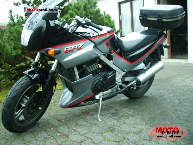 kawasaki gpz 500 s 1992 specs and photos. Black Bedroom Furniture Sets. Home Design Ideas