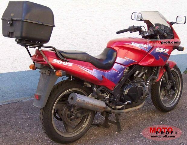 Kawasaki GPZ 500 S 1995 Specs and Photos