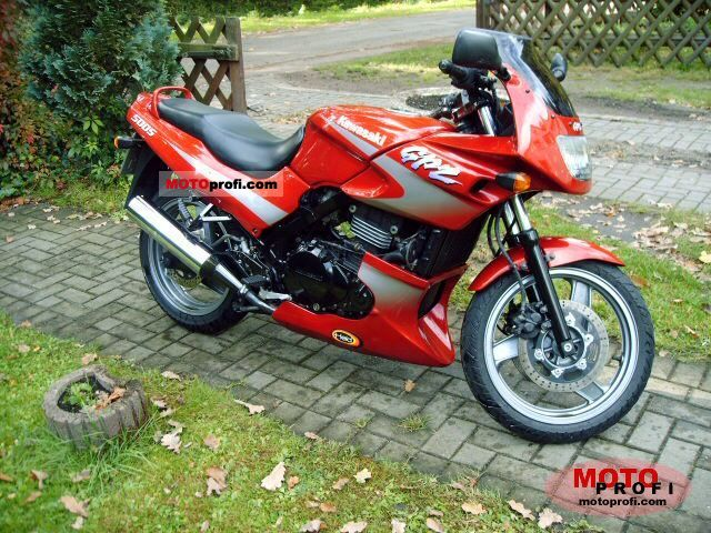 kawasaki gpz 500 s 1998 specs and photos. Black Bedroom Furniture Sets. Home Design Ideas