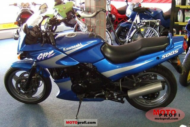 kawasaki gpz 500 s 2001 specs and photos. Black Bedroom Furniture Sets. Home Design Ideas