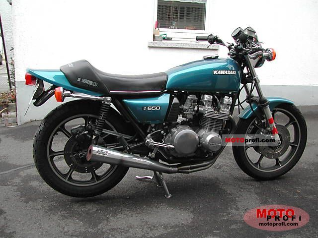 Kawasaki Z 650 1978 Specs And Photos