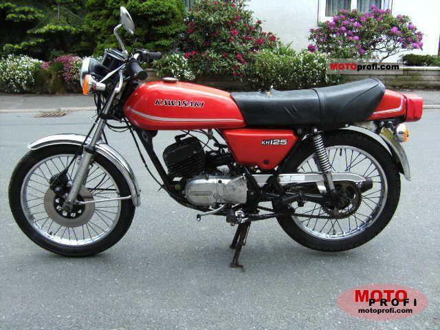 Kawasaki KH 125 1979 photo