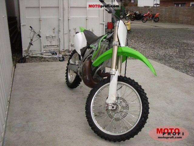 Kawasaki Kx 250 2005 Specs And Photos