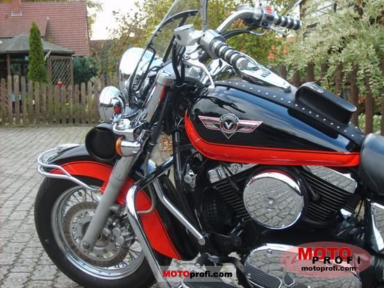 kawasaki vn 1500 classic 1997 specs and photos. Black Bedroom Furniture Sets. Home Design Ideas
