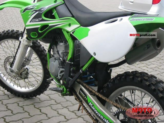 Kawasaki Kx 125 2002 Specs And Photos