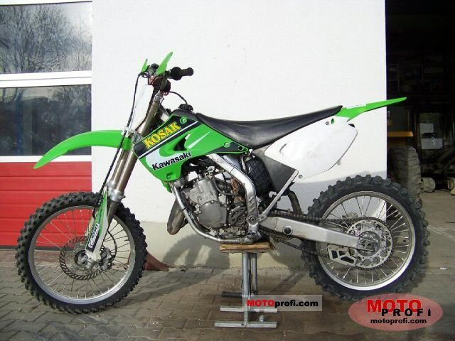 Kawasaki Kx 125 2005 Specs And Photos