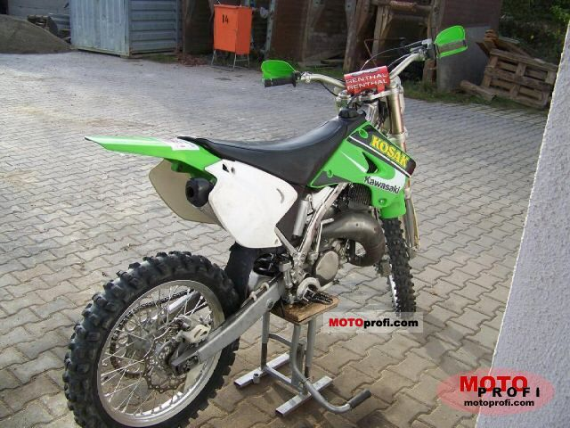 Incredible Kawasaki Kx 125 2005 Specs And Photos Pabps2019 Chair Design Images Pabps2019Com