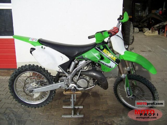 Terrific Kawasaki Kx 125 2005 Specs And Photos Pabps2019 Chair Design Images Pabps2019Com