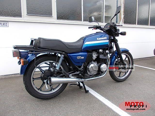 Kawasaki Z 550 GT 1990 photo