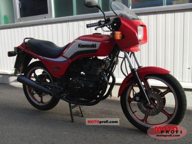 Kawasaki GPZ 305 Belt Drive 1986 photo