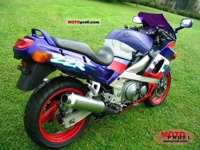 Kawasaki ZZR 600 1995 Specs and Photos