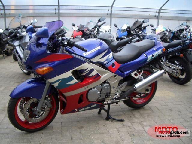 Kawasaki ZZR 600 1997 Photo 15