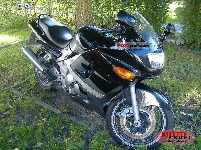 Kawasaki ZZR 600 1998 Photo 10
