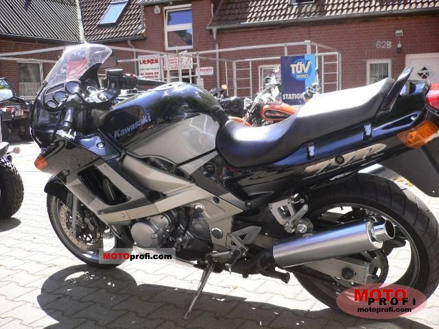 Kawasaki ZZR 600 1998 Photo 3