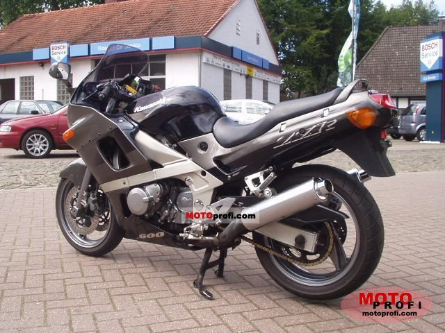 Kawasaki ZZR 600 1999