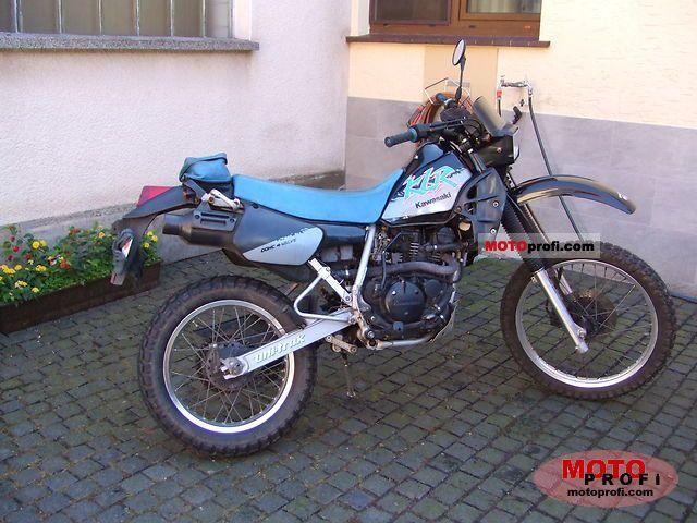 Kawasaki KLR 250 1992 photo