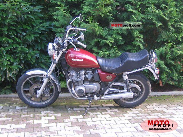 Kawasaki Z 550 1981 photo