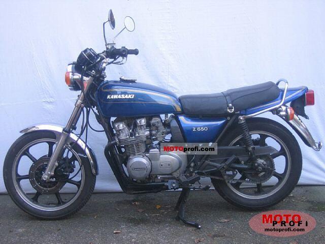 Kawasaki 650 1978 – Idée d'image de moto