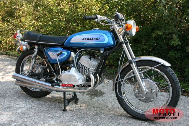 Kawasaki 500 H 1 Mach III 1971 Specs and Photos