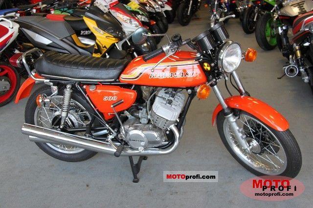 Kawasaki 500 H 1 Mach III 1972 photo