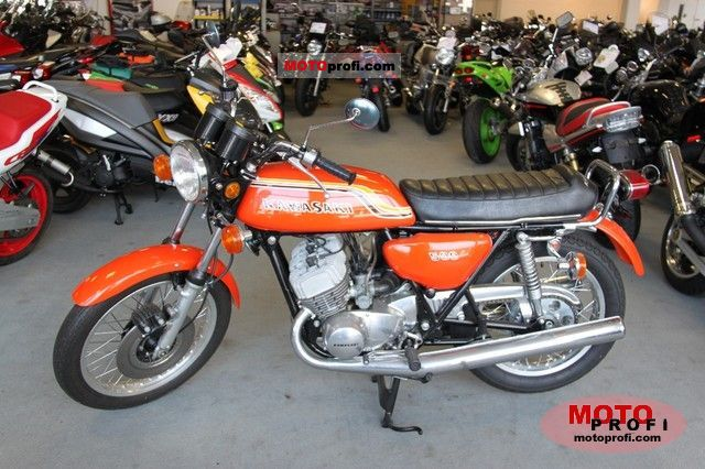 Kawasaki 500 H 1 Mach III 1972 Specs and Photos