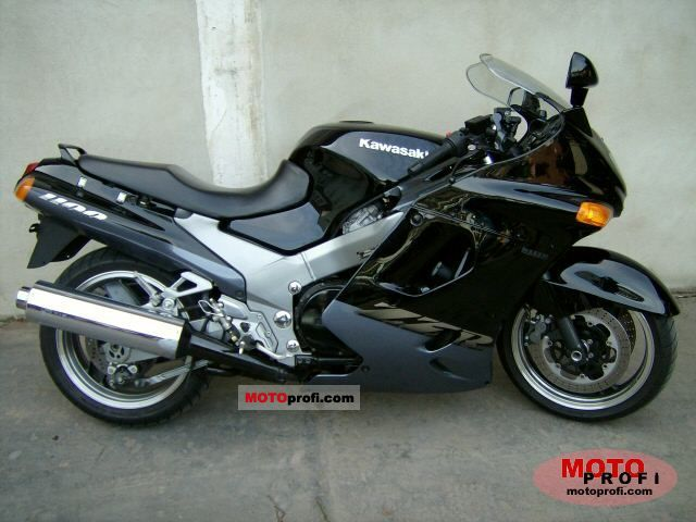 Kawasaki ZZR 1100 1998 Specs and Photos