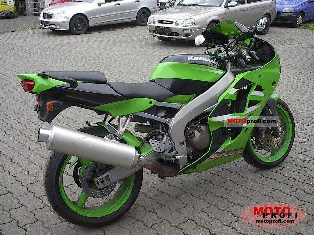 Kawasaki Zx 6r Ninja 2001 Specs And Photos