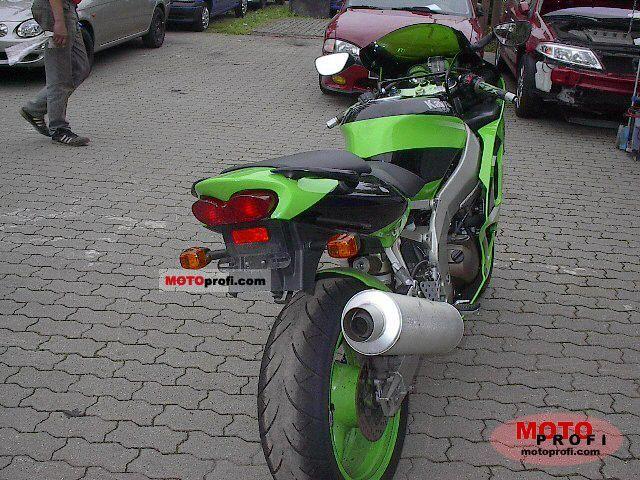 Kawasaki Zx 6r Ninja 2001 Specs And Photos