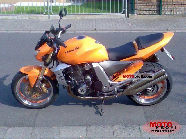 2003 Kawasaki Z1000 Seat Height