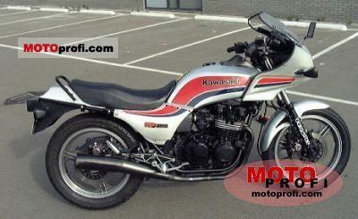 Kawasaki GPZ 550 1985 Specs and Photos