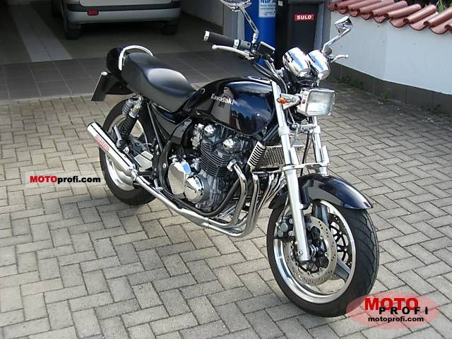 Kawasaki Zephyr 750 1995 Specs And Photos