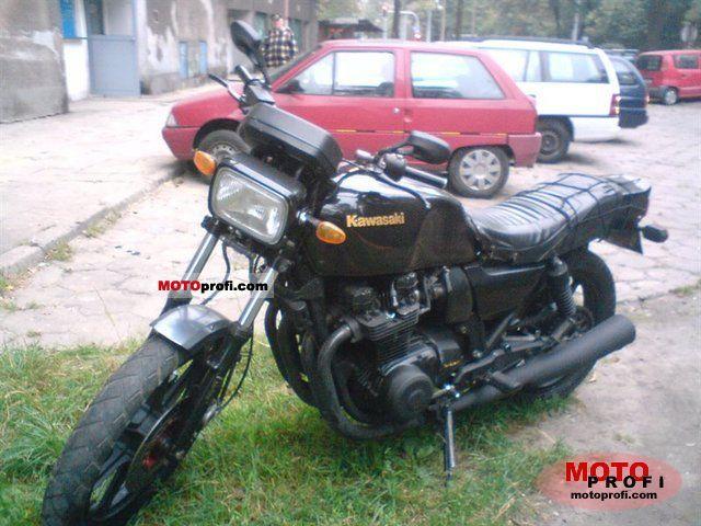 Kawasaki GPZ 1100 1984 photo