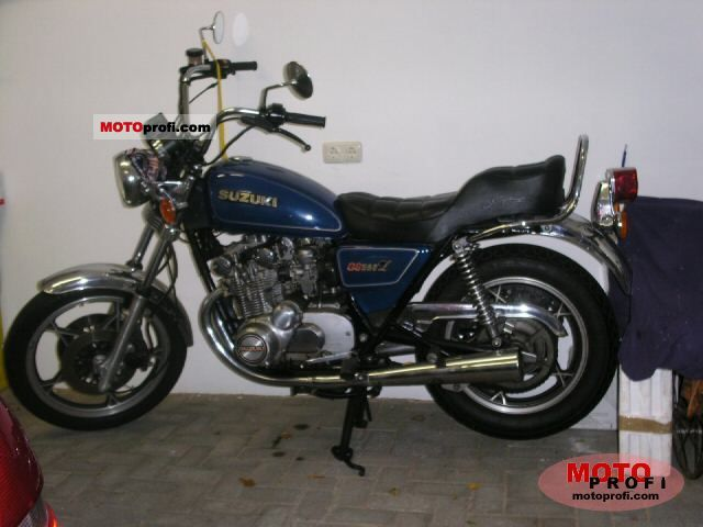 suzuki gs 550 l 1980 specs and photos