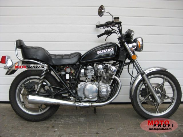 suzuki gs 550 l 1981 specs and photos