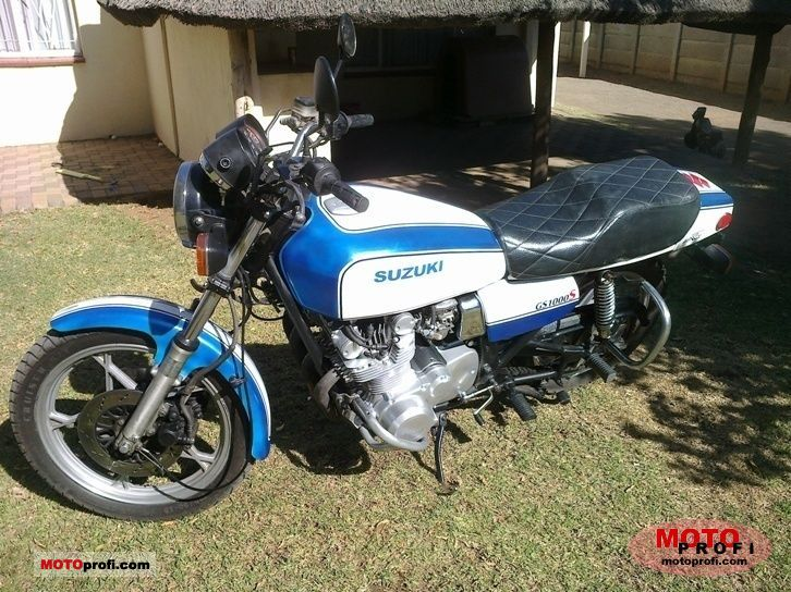 Suzuki GS 1000 S 1980 Specs and Photos