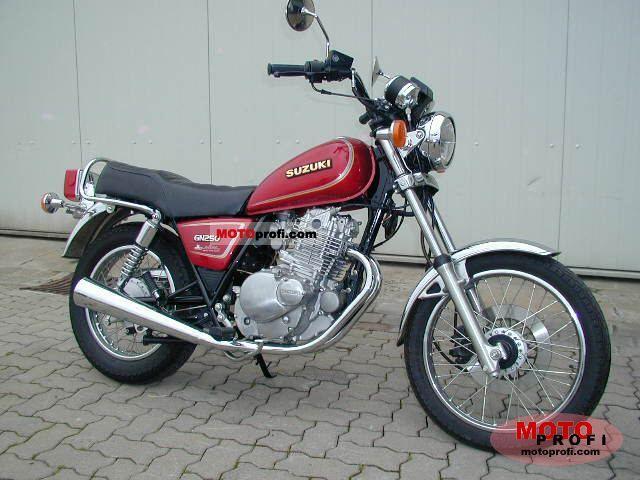 Suzuki gn 250 1997   Motorcycles   Gumtree Australia