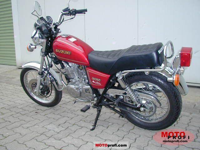 1997 Suzuki GN 250 - Moto.ZombDrive.COM