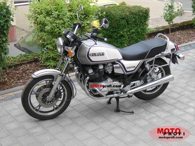 Suzuki GS 1100 G 1988 Specs and Photos