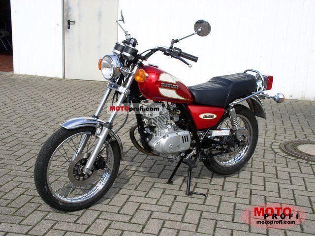 Suzuki Gn 125 1997 Specs And Photos