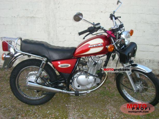Suzuki GN 125 1998 Specs and Photos