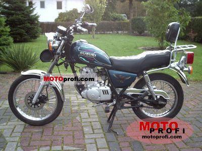 1998 Suzuki GS 125 ES: pics, specs and information