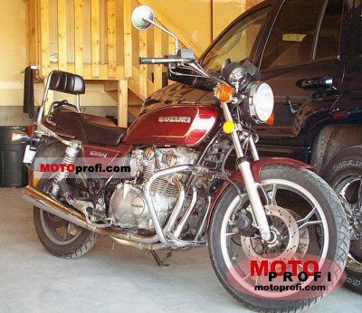 1982 Suzuki GS 650 G Katana specifications and pictures