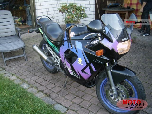 suzuki gsx 600 f 1992 specs and photos. Black Bedroom Furniture Sets. Home Design Ideas