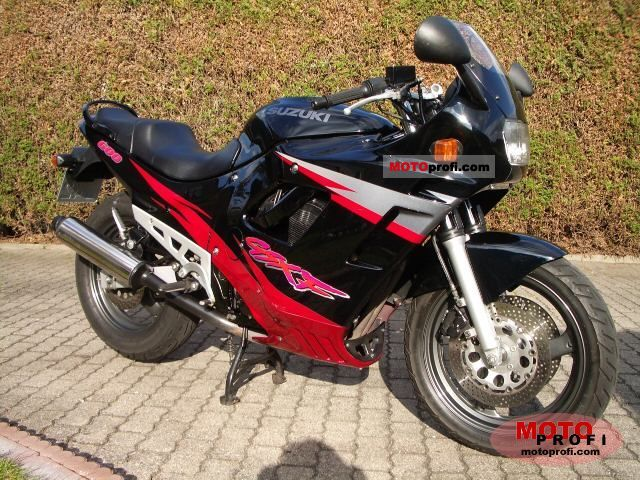 suzuki gsx 600 f 1997 specs and photos. Black Bedroom Furniture Sets. Home Design Ideas