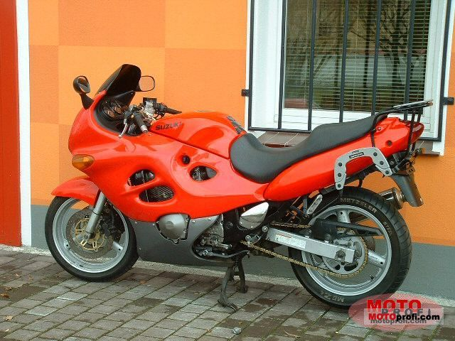 suzuki gsx 600 f 1998 specs and photos. Black Bedroom Furniture Sets. Home Design Ideas